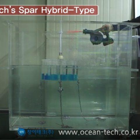부유식 해상풍력 스파링하이브리드 풍동실험